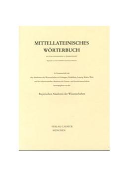 Abbildung von Mittellateinisches Wörterbuch: Band 1: 9. Lieferung (authentisatus-beneficium) | 1965