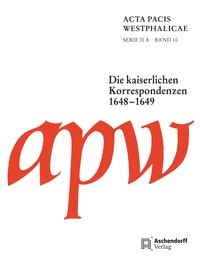 Acta Pacis Westphalicae, 2015 | Buch (Cover)