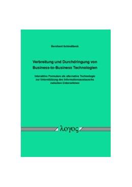 Abbildung von Schindlbeck   Verbreitung und Durchdringung von Business-to-Business Technologien   2015   Interaktive Formulare als alte...