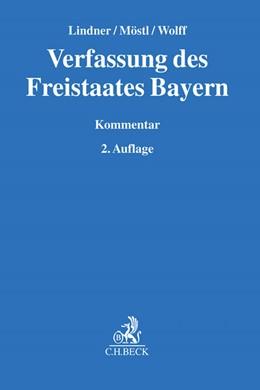 Abbildung von Lindner / Möstl / Wolff | Verfassung des Freistaates Bayern | 2. Auflage | 2017