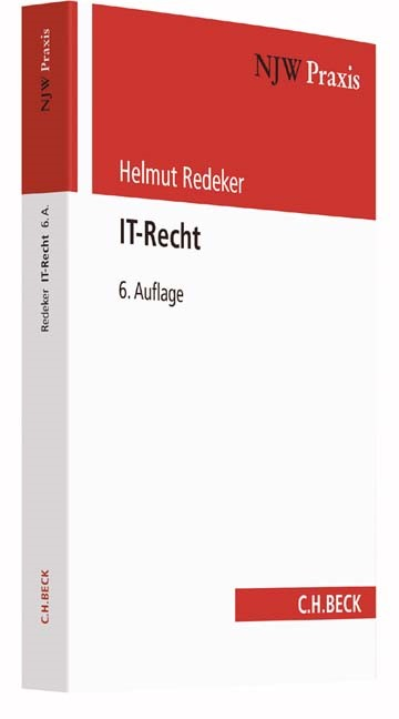 IT-Recht | Redeker | 6., neubearbeitete Auflage, 2016 | Buch (Cover)