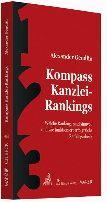 Kompass Kanzlei-Rankings | Gendlin, 2015 | Buch (Cover)