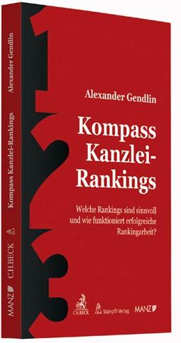 Abbildung von Gendlin | Kompass Kanzlei-Rankings | 1. Auflage | 2015 | beck-shop.de