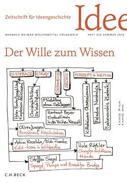 Abbildung von Zeitschrift für Ideengeschichte Heft X/2 Sommer 2016   2016   Enzyklopädien