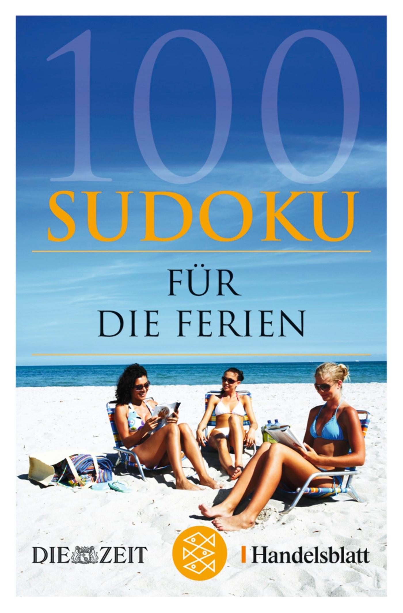 100 Sudoku für die Ferien, 2007 | Buch (Cover)