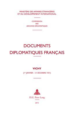 Abbildung von Documents diplomatiques français | 2015 | VICHY (1er janvier – 31 décemb... | 5