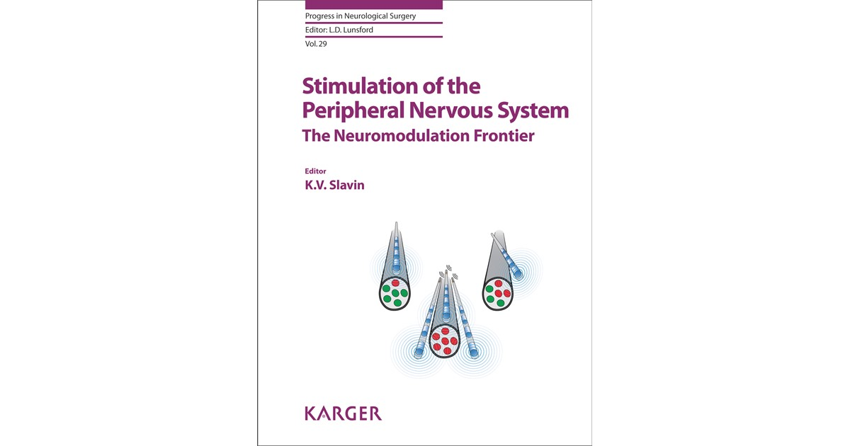 Stimulation Of The Peripheral Nervous System Slavin 2015 Buch
