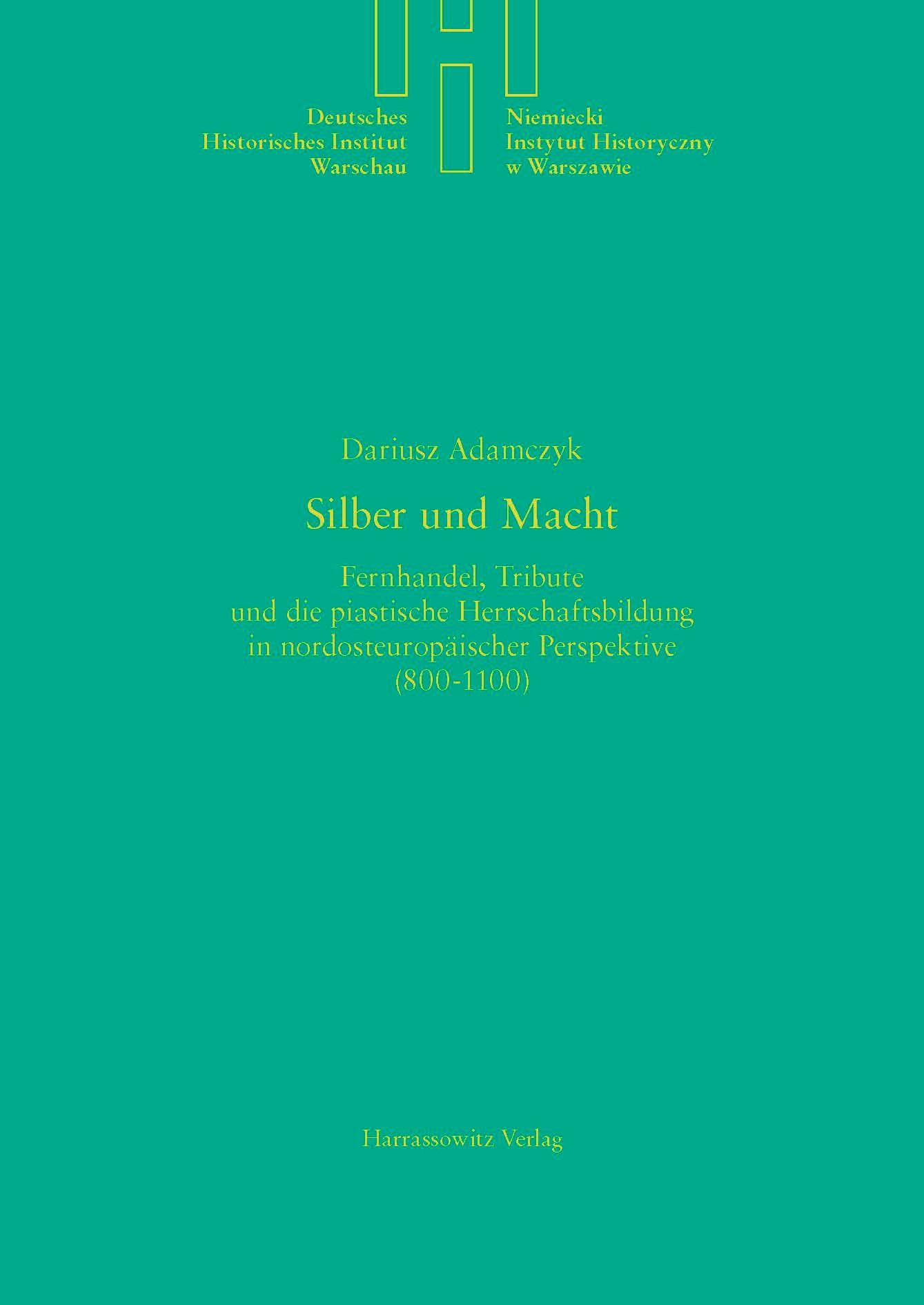 Silber und Macht | Adamczyk, 2014 | Buch (Cover)