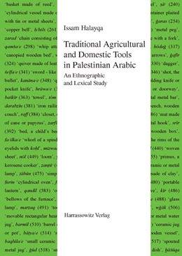 Abbildung von Halayqa | Traditional Agricultural and Domestic Tools in Palestinian Arabic | 1. Auflage | 2014 | 54 | beck-shop.de
