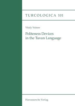 Abbildung von Voinov | Politeness Devices in the Tuvan Language | 2014 | 101