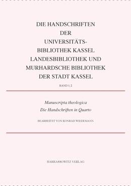 Abbildung von Wiedemann   Manuscripta theologica. Die Handschriften in Quarto   2015   1,2