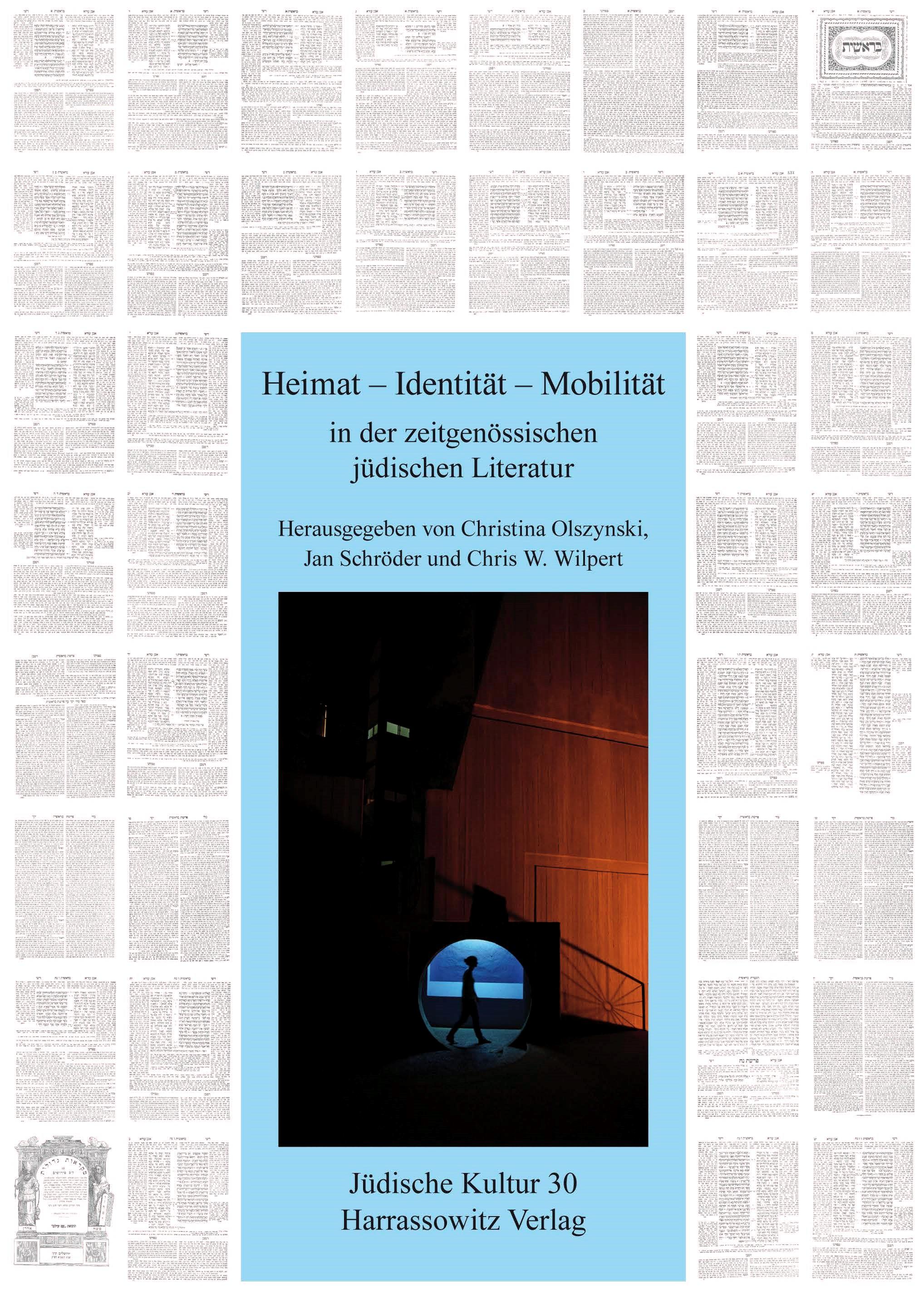 Heimat – Identität – Mobilität in der zeitgenössischen jüdischen Literatur | Olszynski / Schröder / Wilpert, 2015 | Buch (Cover)