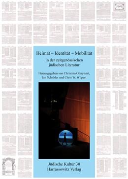 Abbildung von Olszynski / Schröder / Wilpert | Heimat – Identität – Mobilität in der zeitgenössischen jüdischen Literatur | 2015 | 30