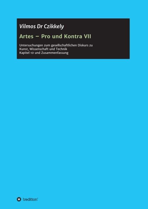 Abbildung von Dr Czikkely   Artes – Pro und Kontra VII   2015