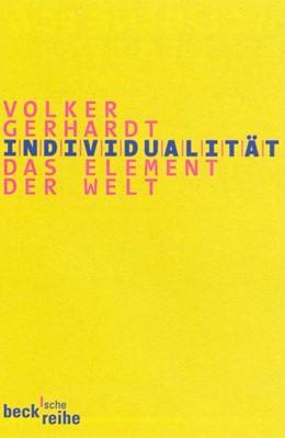 Abbildung von Gerhardt, Volker   Individualität   1. Auflage   2000   1381   beck-shop.de