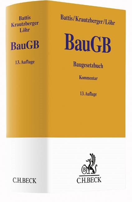 Baugesetzbuch: BauGB | Battis / Krautzberger / Löhr | 13. Auflage, 2016 | Buch (Cover)