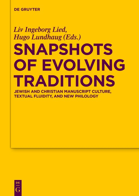 Snapshots of Evolving Traditions | Lied / Lundhaug, 2017 | Buch (Cover)