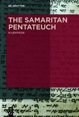 Abbildung von Schorch | The Samaritan Pentateuch | 2018 | Volume III: Leviticus