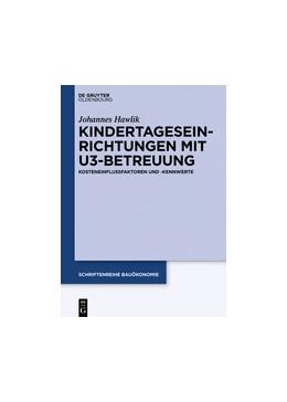 Abbildung von Hawlik | Kindertageseinrichtungen mit U3-Betreuung | 1. Auflage | 2015 | 2 | beck-shop.de