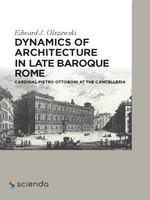 Dynamics of Architecture in Late Baroque Rome | Olszewski, 2015 | Buch (Cover)