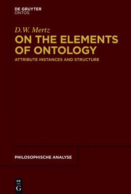Abbildung von Mertz | On the Elements of Ontology | 1. Auflage | 2016 | 68 | beck-shop.de