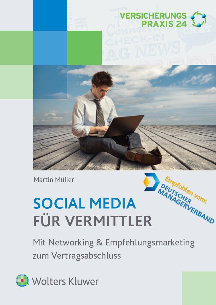 Social Media für Vermittler | Müller, 2015 | Buch (Cover)