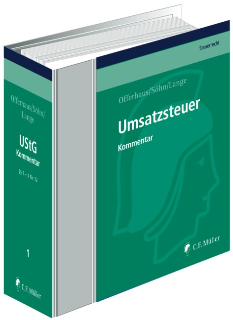 Umsatzsteuer • ohne Aktualisierungsservice | Offerhaus / Söhn / Lange | Loseblattwerk mit 310. Aktualisierung (Cover)