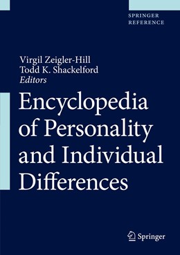 Abbildung von Zeigler-Hill / Shackelford | Encyclopedia of Personality and Individual Differences | 1st ed. 2020 | 2021
