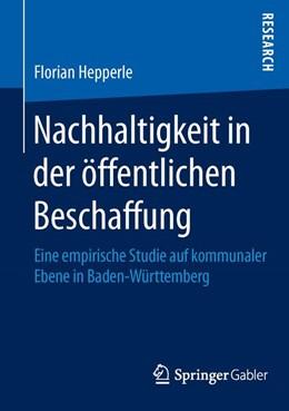 Abbildung von Hepperle | Nachhaltigkeit in der öffentlichen Beschaffung | 1. Auflage | 2015 | beck-shop.de