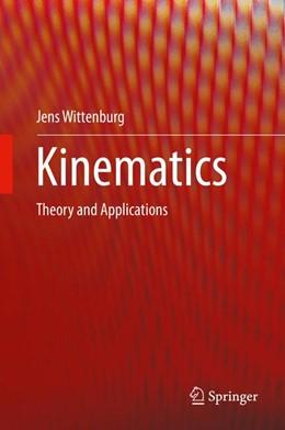 Abbildung von Wittenburg | Kinematics | 1st ed. 2016 | 2016 | Theory and Applications
