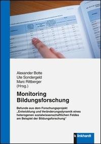 Monitoring Bildungsforschung | Botte / Sondergeld / Rittberger (Hrsg.), 2015 | Buch (Cover)