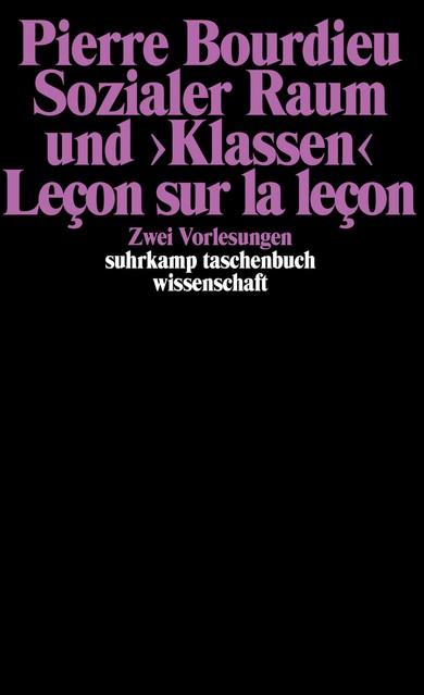 Sozialer Raum und »Klassen« | Bourdieu, 1985 | Buch (Cover)