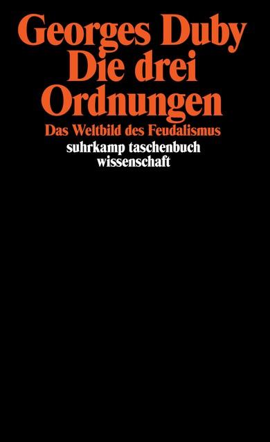 Die drei Ordnungen | Duby, 1986 | Buch (Cover)