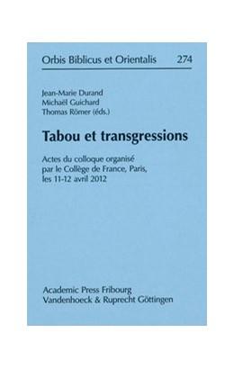 Abbildung von Durand / Römer | Tabou et transgressions | 1. Auflage | 2015 | beck-shop.de