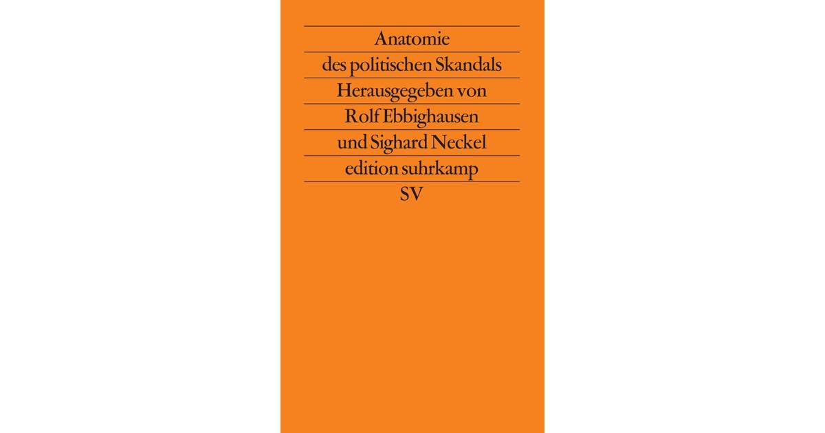 Anatomie des politischen Skandals | Neckel / Ebbighausen, 1989 ...