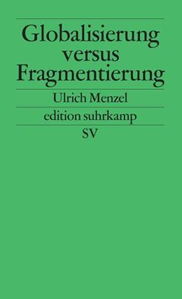 Abbildung von Menzel | Globalisierung versus Fragmentierung | 1998 | 2022