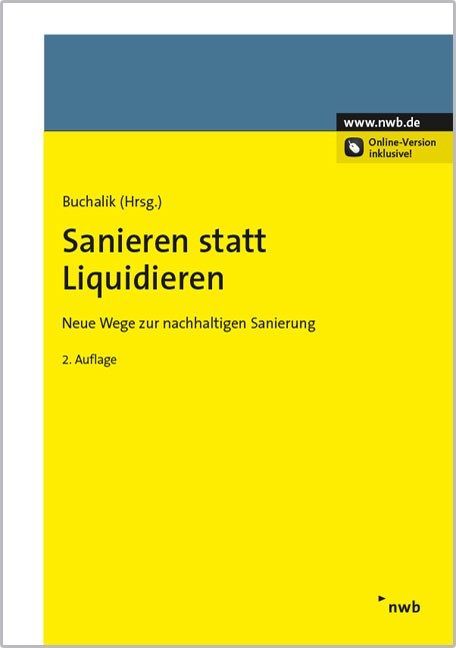 Sanieren statt Liquidieren   Boyens / Brömmekamp / Buchalik   2. Auflage, 2015 (Cover)