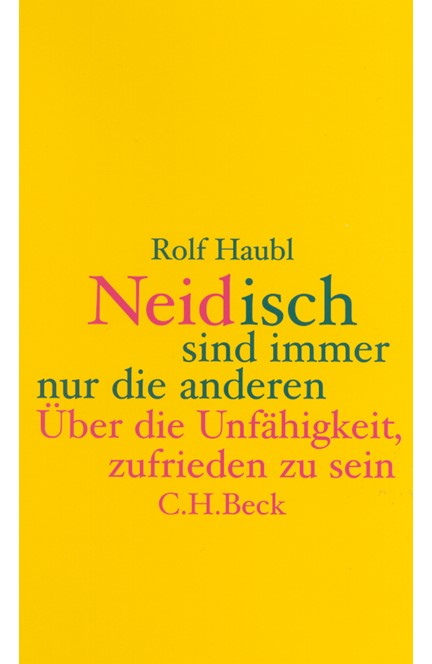Cover: Rolf Haubl, Neidisch sind immer nur die anderen