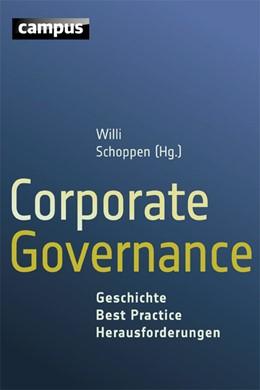 Abbildung von Schoppen | Corporate Governance | 2015 | Geschichte - Best Practice - H...