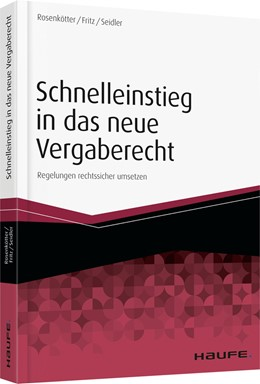 Abbildung von Rosenkötter / Fritz | Schnelleinstieg Vergaberecht | 1. Auflage | 2016 | beck-shop.de