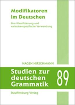 Abbildung von Hirschmann | Modifikatoren im Deutschen | 2015 | Ihre Klassifizierung und varie...