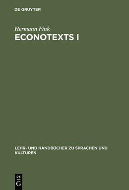 Abbildung von Fink | EconoTexts I | 3., überarbeitete und erweiterte Aufl | 2015 | A Collection of Introductory E...