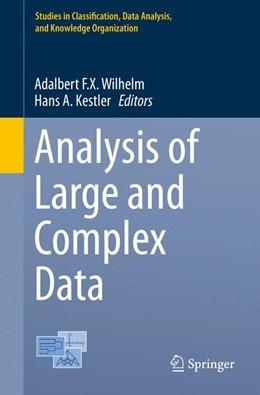 Abbildung von Wilhelm / Kestler | Analysis of Large and Complex Data | 1st ed. 2016 | 2016