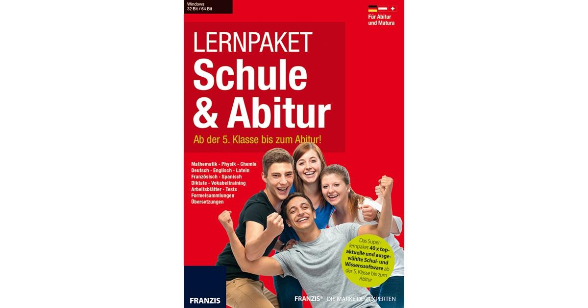 Lernpaket Schule & Abitur 2016 | Franzis, 2015 | beck-shop.de