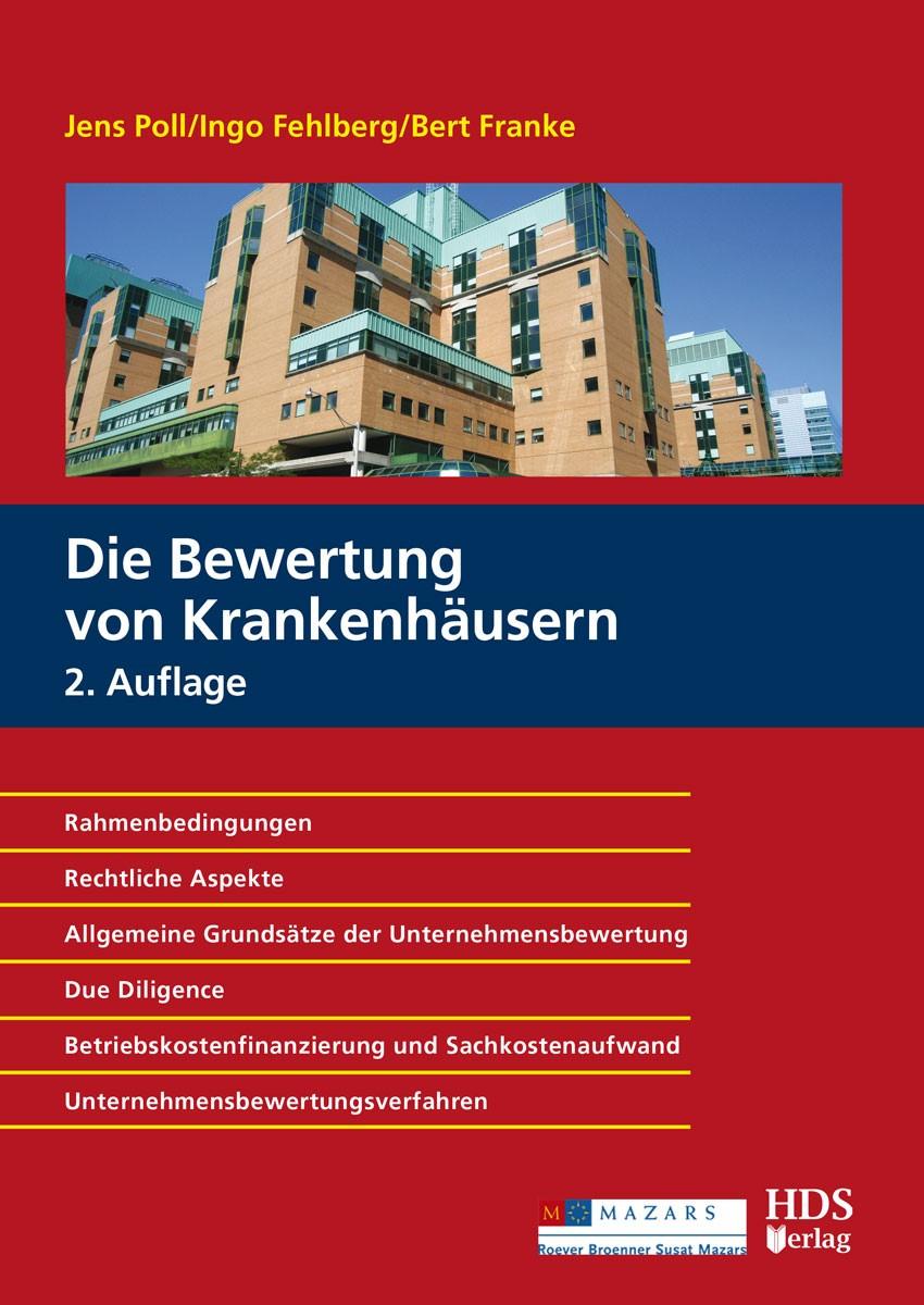Die Bewertung von Krankenhäusern   Poll / Fehlberg / Franke   2., überarbeitete und erweiterte Auflage, 2018   Buch (Cover)