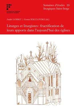 Abbildung von Sekulovski   Liturges et liturgistes:fructification e leurs apports dans l'aujourd'hui des eglises   1. Auflage   2015   beck-shop.de