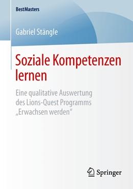 Abbildung von Stängle   Soziale Kompetenzen lernen   1. Auflage   2015   beck-shop.de