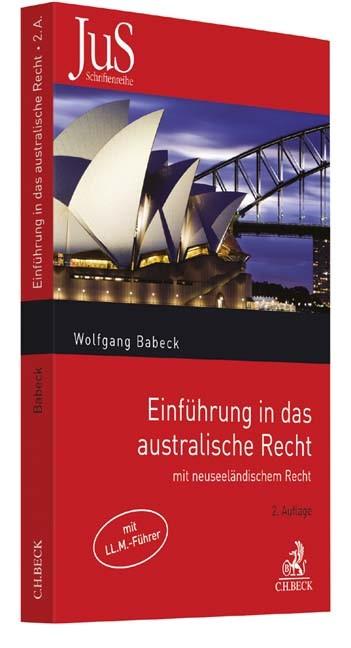Einführung in das australische Recht | Babeck | Buch (Cover)