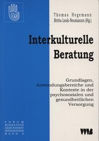 Interkulturelle Beratung | Hegeman / Lenk-Neumann, 2002 | Buch (Cover)