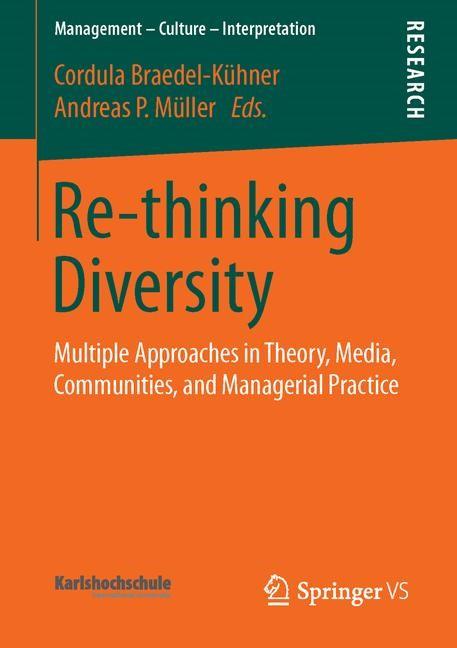 Re-thinking Diversity | Braedel-Kühner / Müller | 1st ed. 2016, 2015 | Buch (Cover)